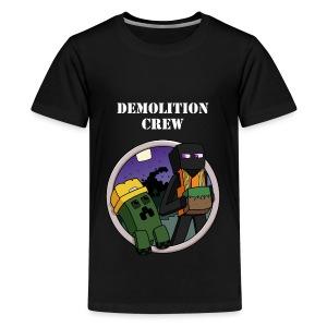 Demolition Crew Tshirt - Kids' Premium T-Shirt
