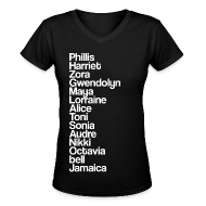 Women's T-Shirts ~ Women's V-Neck T-Shirt ~ Freedom Writers T-Shirt