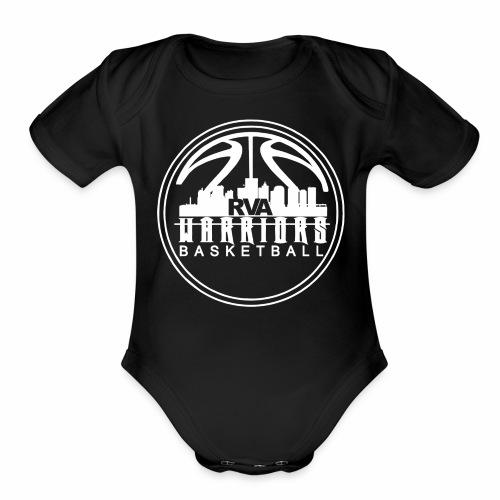 Lil Warrior - Organic Short Sleeve Baby Bodysuit