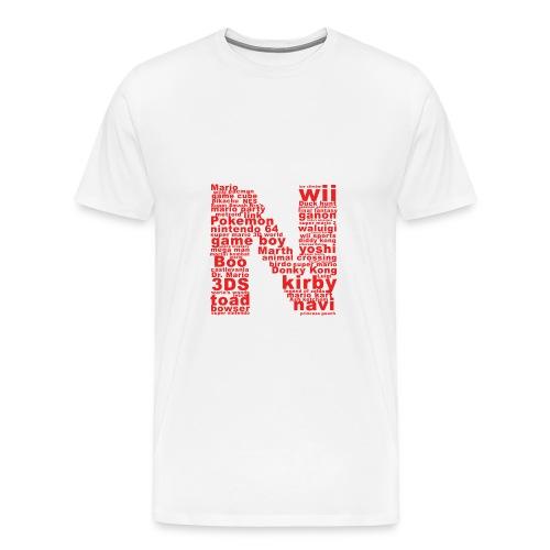 mens NES throwback - Men's Premium T-Shirt