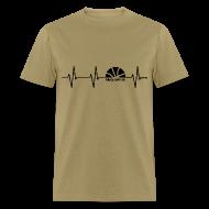 T-Shirts ~ Men's T-Shirt ~ Heartbeat w/dark art
