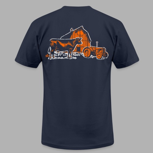 Men's Saturdays at the Barn - Men's Fine Jersey T-Shirt