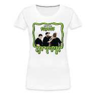 T-Shirts ~ Women's Premium T-Shirt ~ Wreckless Eating Cringe Shirt