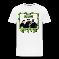T-Shirts ~ Men's Premium T-Shirt ~ Wreckless Eating Cringe Shirt