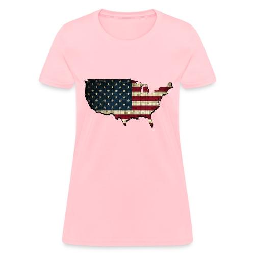 United States (USA) Pride T-Shirt - Women's T-Shirt