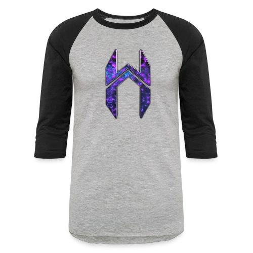 Baseball T-Shirt Dark Matter HAJI Logo  - Baseball T-Shirt