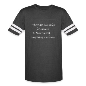 Two Rules for Success Vintage Sport T-Shirt - Vintage Sport T-Shirt