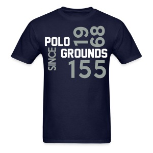 Polo Ground 1968 Staggered Long Sleeve blu - Men's T-Shirt