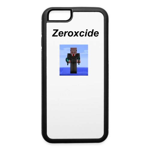 Zeroxixcide phone case with logo - iPhone 6/6s Rubber Case