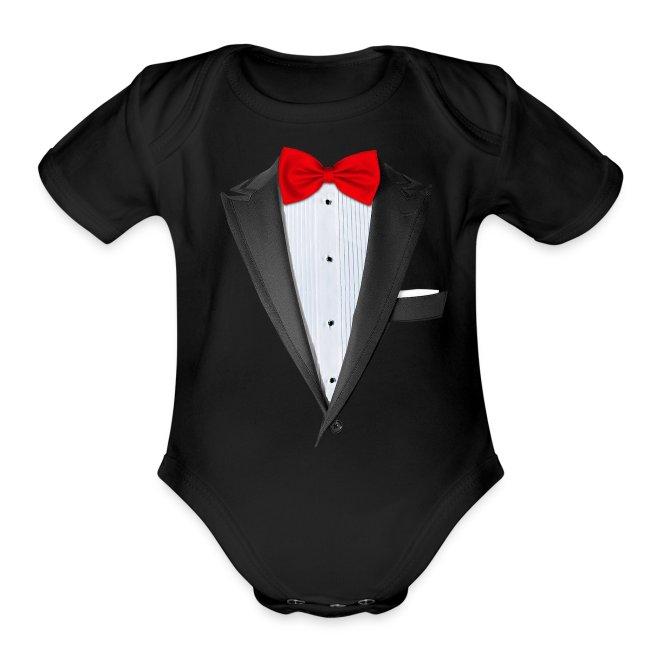 6381a641 Chattanooga Tshirt | Realistic Tuxedo T-shirt - Organic Short Sleeve ...