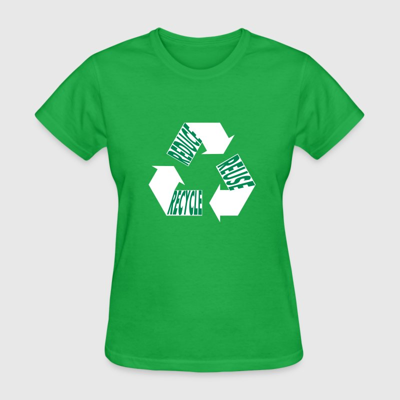 Reuse Reduce Recycle Women's T-Shirts - Women's T-Shirt