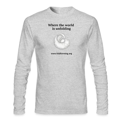 Men's Unfolding Long sleeve shirt (More colors available) - Men's Long Sleeve T-Shirt by Next Level