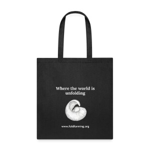 Unfolding Canvas Tote Bag (More colors available) - Tote Bag