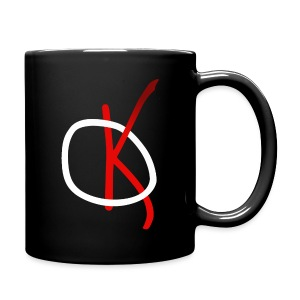 Kaos Coffee Mug Red - Full Color Mug