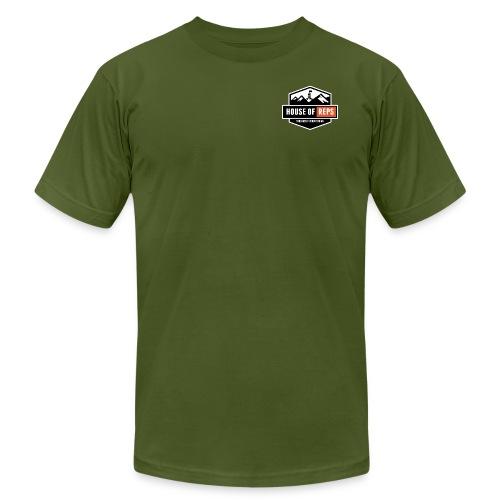 Everything's a Deadlift (Olive) - Men's Fine Jersey T-Shirt