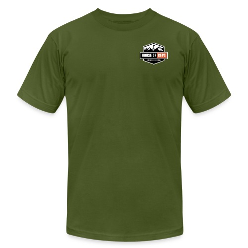 Everything's a Deadlift (Olive) - Men's  Jersey T-Shirt