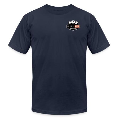 Everything's a Deadlift (Navy) - Men's  Jersey T-Shirt