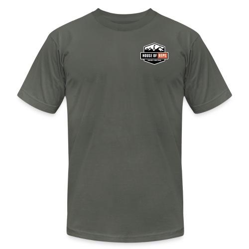 Everything's a Deadlift (Asphalt) - Men's Fine Jersey T-Shirt