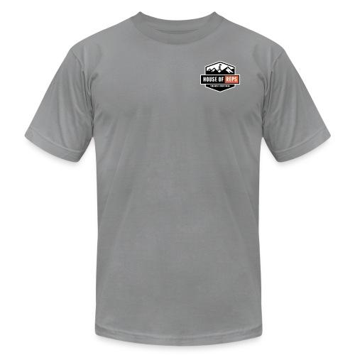 Everything's a Deadlift (Slate) - Men's Fine Jersey T-Shirt