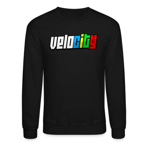 Slanted Velocity Crewneck - Crewneck Sweatshirt