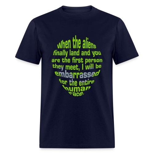 Alien Insult - Men's T-Shirt
