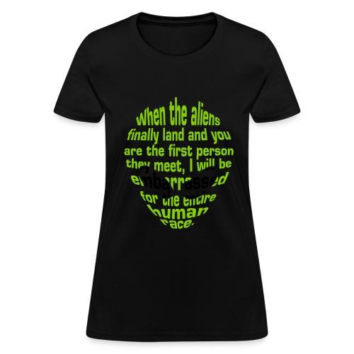 Alien Insult (Women) - Women's T-Shirt