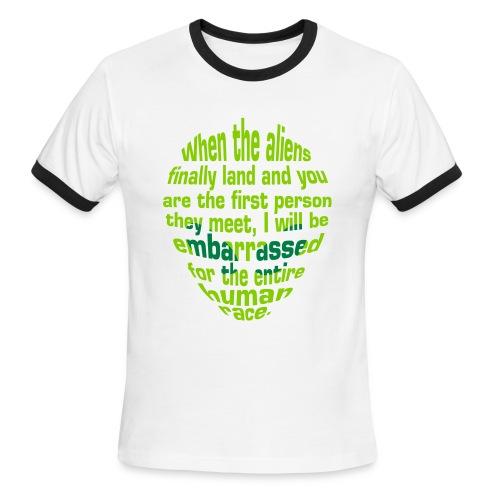 Alien Insult - Men's Ringer T-Shirt