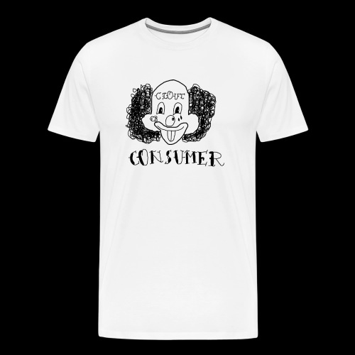 Consumer Clown - Men's Premium T-Shirt