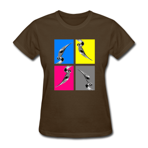 Metal Bender 4-UP (Womens) - Women's T-Shirt