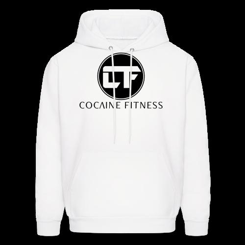 CF/Logo BLK FRONT Print - Men's Hoodie