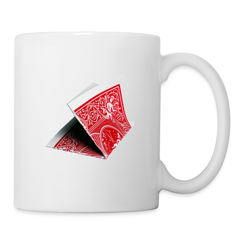 Folded Card Prediction Ceramic Mug - Coffee/Tea Mug
