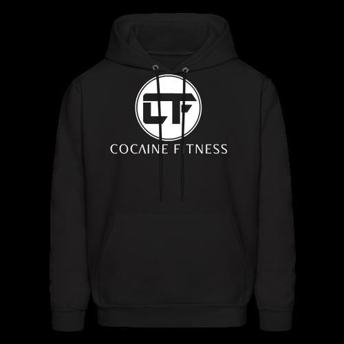 CF/Logo WHT FRONT Print - Men's Hoodie