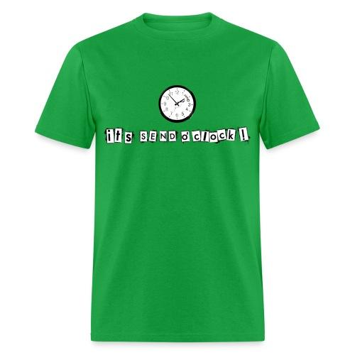 climb, climber, boulder, send, bouldering, boulderer - Men's T-Shirt
