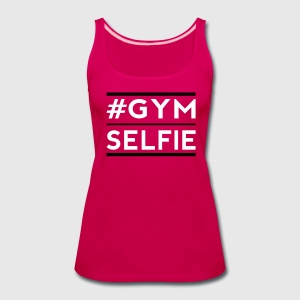 gym selfie Tanks - Women's Premium Tank Top