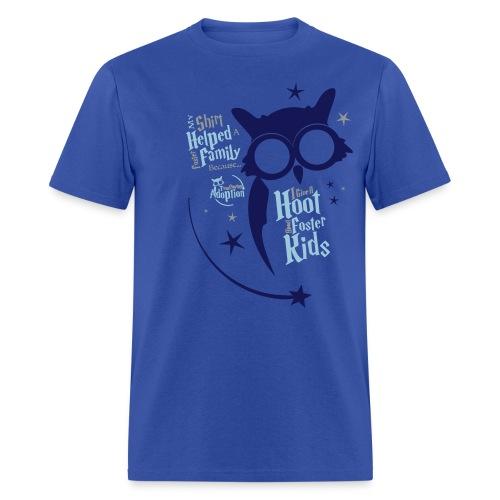 I Give a Hoot - Men's Royal Blue - Men's T-Shirt