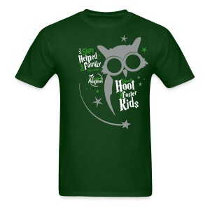 I Give a Hoot - Men's Green - Men's T-Shirt
