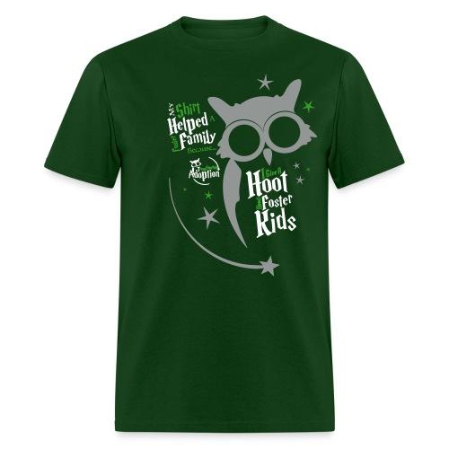 I Give a Hoot - Men's Green - Men's T-Shirt
