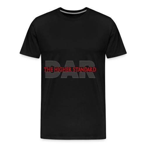DAR Higher Standard Tee - Men's Premium T-Shirt