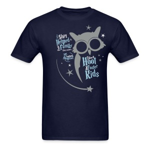 I Give a Hoot - Men's Blue - Men's T-Shirt