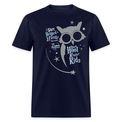 I Give a Hoot - Men's Blue - Men's T-Shirt