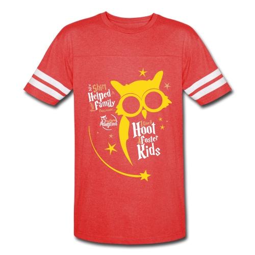 I Give a Hoot - Unisex Vintage Sport Red - Vintage Sport T-Shirt