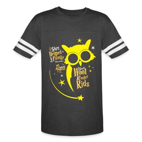 I Give a Hoot - Unisex Vintage Sport Black - Vintage Sport T-Shirt
