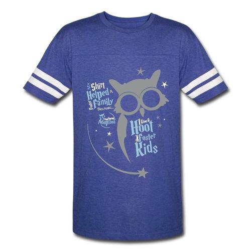 I Give a Hoot - Unisex Vintage Sport Blue - Vintage Sport T-Shirt