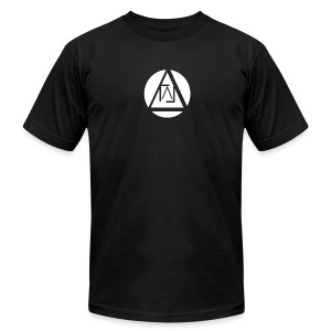 Lucid Apparel Signature Tee - Black Slim Fit - Men's Fine Jersey T-Shirt