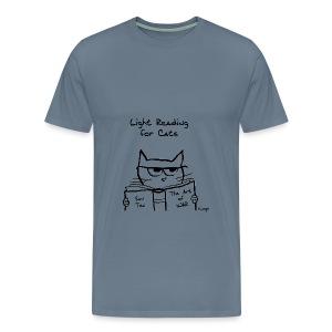 Your Cat is Plotting War - Men's Premium T-Shirt