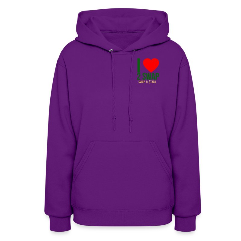 new logo dark bkground 15 - Women's Hoodie