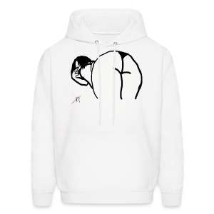 Bend Over - Men's Hoodie