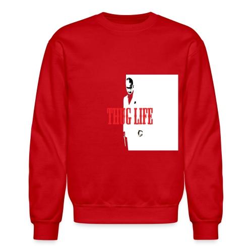 THUG LIFE RED  - Crewneck Sweatshirt