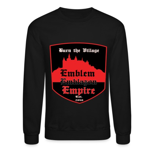 EMBLEM EMBLAZON EMPIRE - Crewneck Sweatshirt