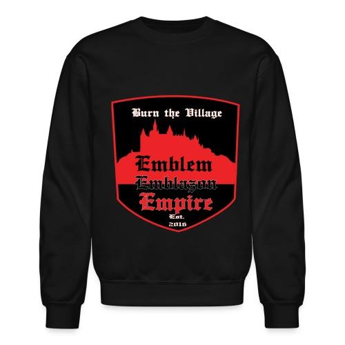 EMBLEM EMBLAZON EMPIRE - Crewneck Sweatshirt